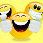 Rolig smiley