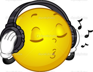 Music Loving Smiley